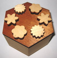 Hexagon Puzzle Box